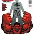HULK #23 NM (2010) *WHO IS THE RED HULK!!*