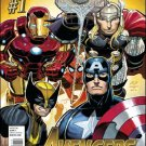 AVENGERS #1-5  NM (2010) COMPLETE SET OF THE FIRST 5 ISSUES
