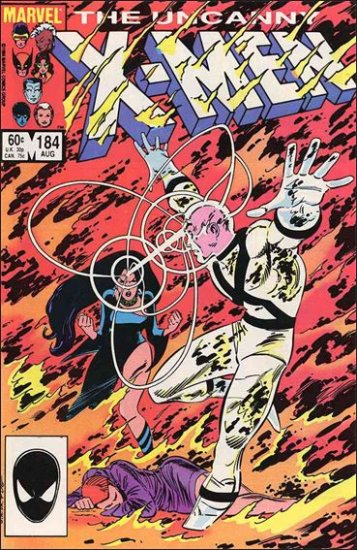 UNCANNY X-MEN #184 VF/NM