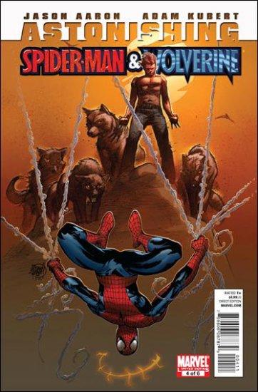 ASTONISHING SPIDER-MAN & WOLVERINE #4 NM (2010)
