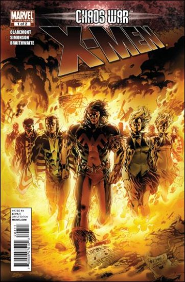 CHAOS WAR X-MEN #1 NM (2010)