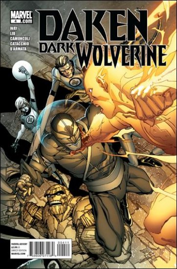 DAKEN: DARK WOLVERINE #4 NM (2010)