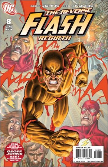 FLASH #8 NM (2010) *REVERSE FLASH REBIRTH*