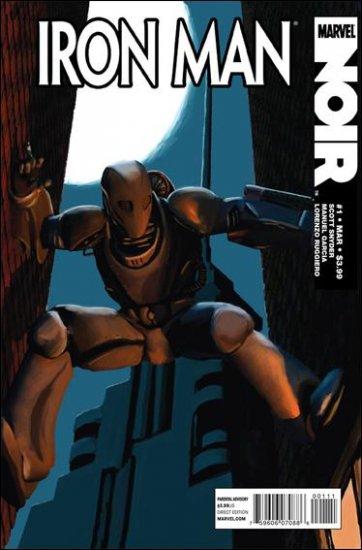 IRON MAN NOIR COMPLETE TRADE SET #1, 2, 3, 4 VF/NM (2010)