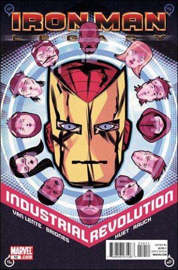 IRON MAN LEGACY #10 NM (2011)
