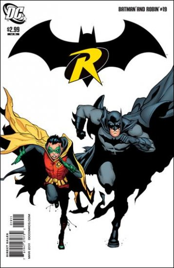 BATMAN AND ROBIN #19 NM (2011)