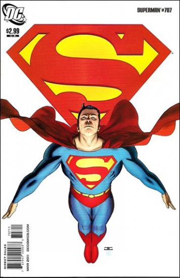 SUPERMAN #707 NM (2011)