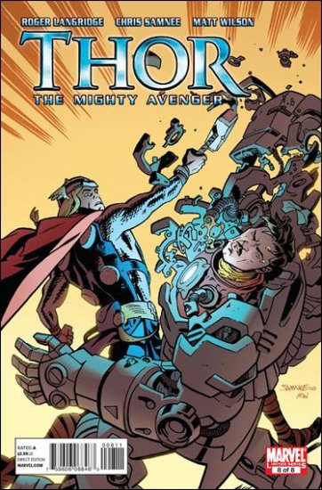 THOR THE MIGHTY AVENGER #8 (2011)