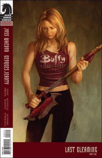 BUFFY THE VAMPIRE SLAYER SEASON EIGHT #40 (2011) COVER A