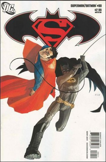 SUPERMAN BATMAN #80 NM (2011)