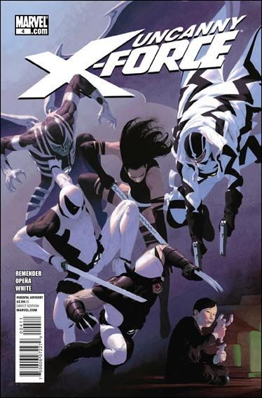 UNCANNY X-FORCE #4 NM (2011)