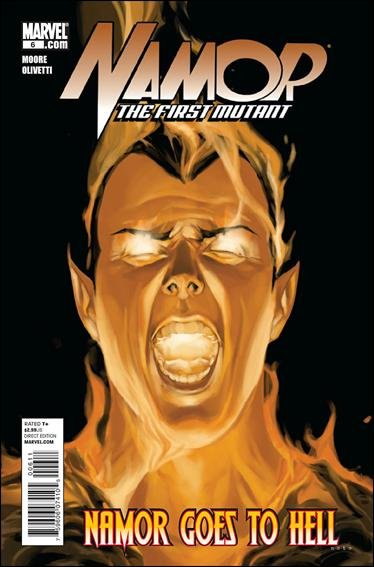 NAMOR THE FIRST MUTANT #6 NM (2011)