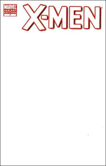 X-MEN VOL 3 #7 NM (2011)BLANK VARIANT COVER
