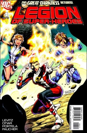 LEGION OF SUPER-HEROES #4 NM (2010)