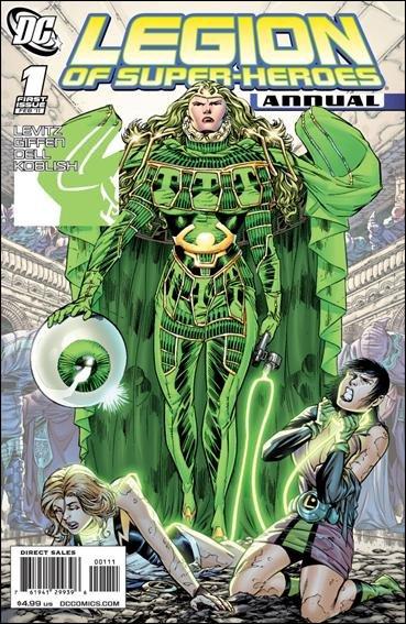 LEGION OF SUPER-HEROES ANNUAL #1 NM (2011)