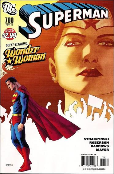 Superman 708 nm 2011 for Bureau 39 superman