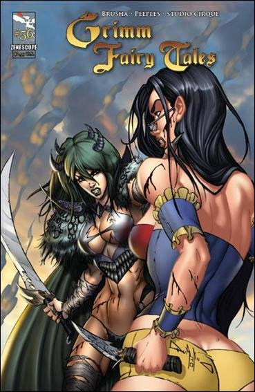 "GRIMM FAIRY TALES #56 NM(2011)  ""COVER A"" *ZENOSCOPE*"