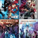 "IRON MAN THOR ""GOD COMPLEX""  (2011) #1 - 4 NM COMPLETE SET OF 4 ISSUES"