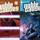 NOBLE CAUSES SET #26, 27, 28, 30 VF/NM IMAGE(2004)