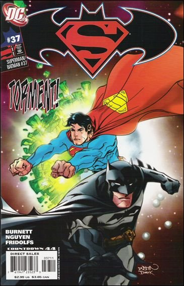 SUPERMAN BATMAN #37 NM (2007)