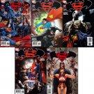 SUPERMAN BATMAN #36, 37, 38, 39, 40 (2007) VF/NM *Trade Set*