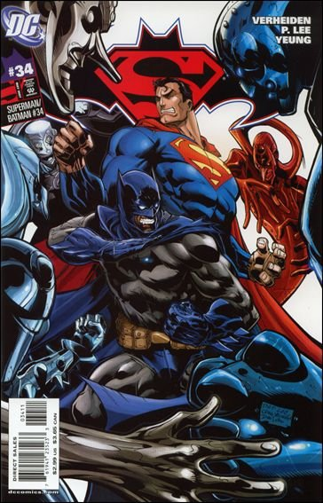 SUPERMAN BATMAN #34 NM (2007)