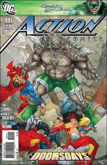 ACTION COMICS #901 NM (2011)REIGN OF THE DOOMSDAYS