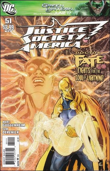 JUSTICE SOCIETY OF AMERICA #51 NM (2011)