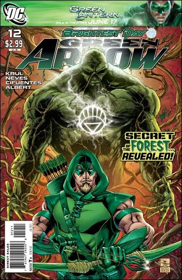 GREEN ARROW #12 (2010) VF/NM *BRIGHTEST DAY*