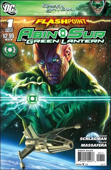 FLASHPOINT ABIN SUR THE GREEN LANTERN #1 (2011) NM