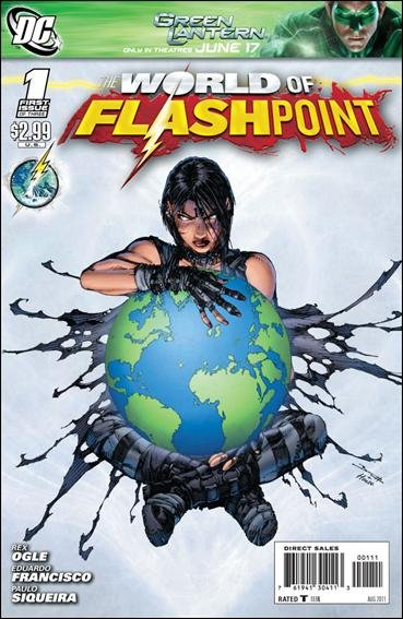 FLASHPOINT WORLD OF FLASHPOINT #1 (2011) NM