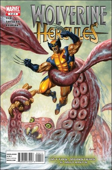 WOLVERINE HERCULES: MYTHS, MONSTERS & MUTANTS #4 NM (2011)