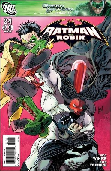 BATMAN AND ROBIN #24 VF/NM (2011)