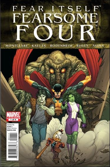 FEAR ITSELF FEARSOME FOUR #1 NM (2011)