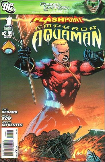 FLASHPOINT EMPEROR AQUAMAN #1 (2011) NM