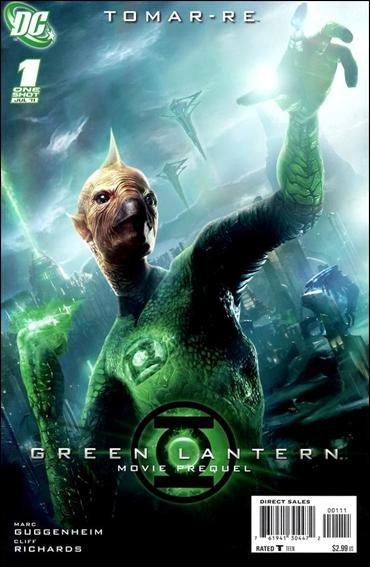 GREEN LANTERN MOVIE PREQUEL TOMAR-RE #1 NM(2011)
