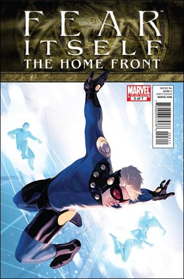 FEAR ITSELF HOME FRONT #3 NM (2011)