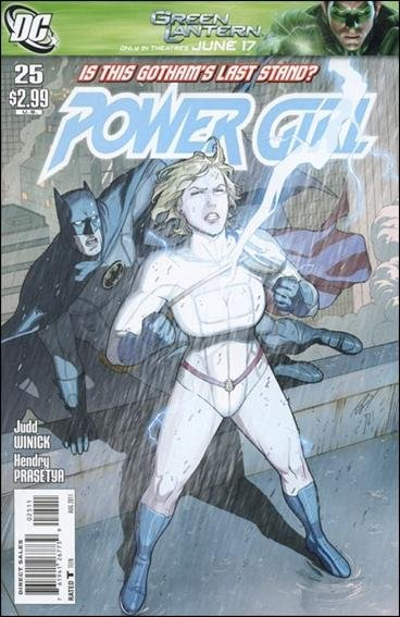 POWER GIRL #25 NM (2011)