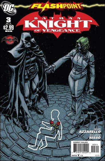 FLASHPOINT BATMAN KNIGHT OF VENGEANCE #3 (2011) NM