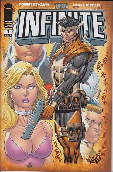 THE INFINITE #1 (COVER A) NM (2011) *KIRKMAN & LIEFELD*