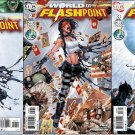 FLASHPOINT WORLD OF FLASHPOINT #1, 2, 3 (2011) NM *COMPLETE SET*