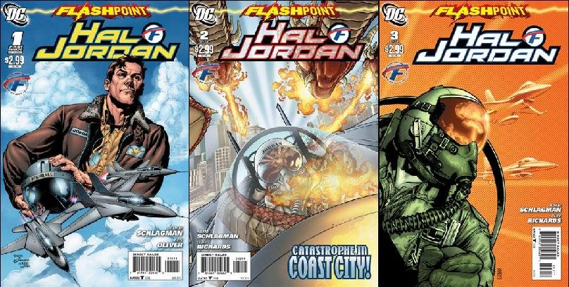 FLASHPOINT HAL JORDAN #1-3 (2011) NM * COMPLETE SET OF 3 ISSUES *
