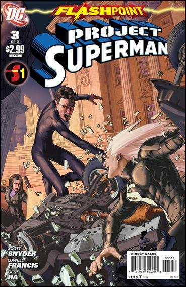 FLASHPOINT PROJECT SUPERMAN #3 (2011) NM