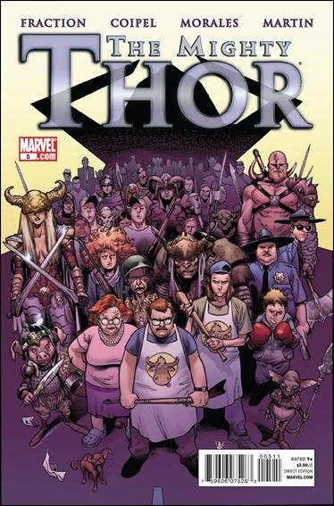 MIGHTY THOR #5 NM (2011)