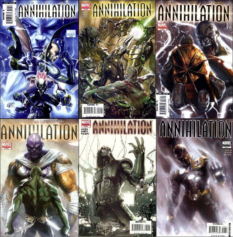 ANNIHILATION #1-6 COMPLETE SET NM (2007)