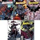BATMAN #691 -695 NM (2009) *COMPLETE SET OF 5 ISSUES*