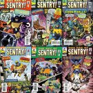 THE AGE OF THE SENTRY!  #1, 2, 3, 4, 5, 6 NM (2011)