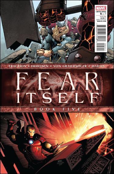 FEAR ITSELF #5 NM (2011)