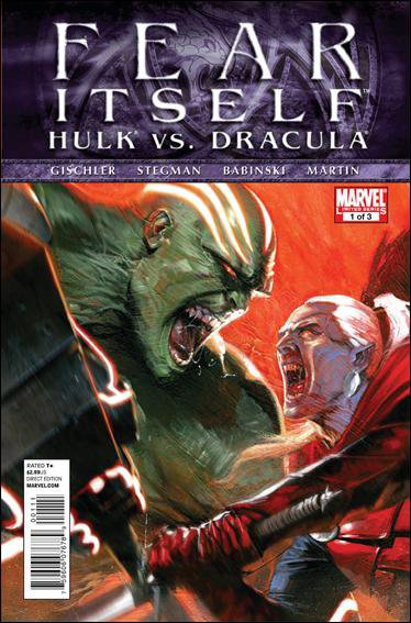 FEAR ITSELF HULK VS DRACULA #1 NM (2011)