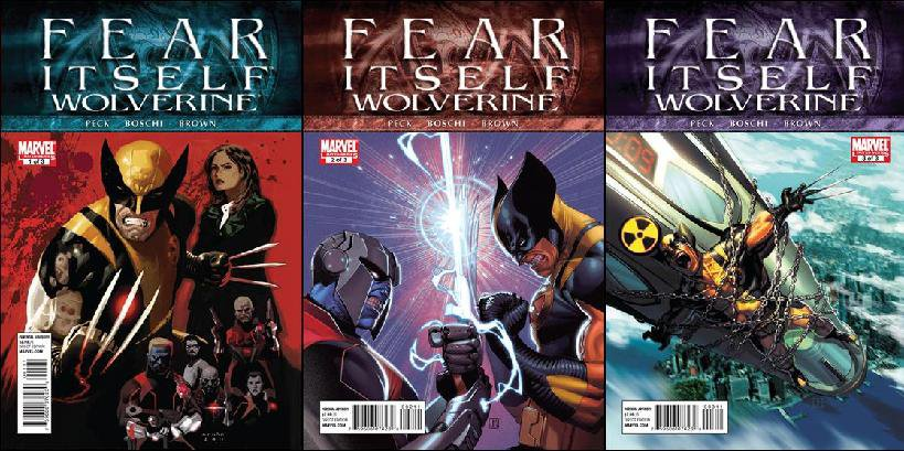FEAR ITSELF WOLVERINE #1 - 3 NM (2011) *COMPLETE SET OF 3 ISSUES*